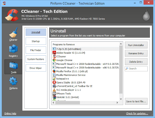 Download Free CCleaner 5.15.5513 Latest