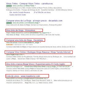 Resultados de búsqueda y los titulos de las páginas - incrementa el CTR