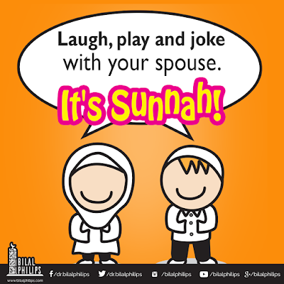 Playing and joking around with your spouse