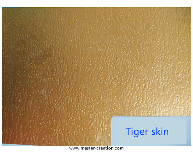 tiger skin grained paper