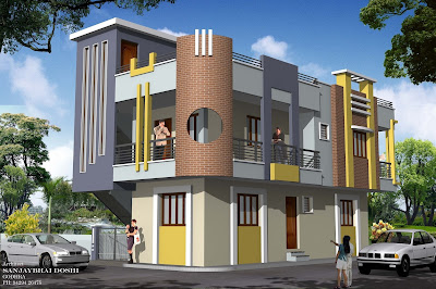 sweet home design and cute house design