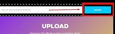 cara upload ke giphy