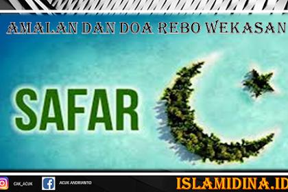 Amalan dan Doa Rebo Wekasan Bulan Safar