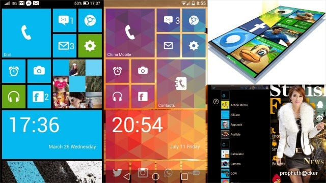 window 8 launcher for android phone