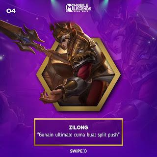 Zilong hero paling ampuh split push turret