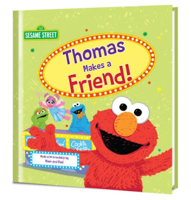Put Me in the Story, Sesame Street, personalized gifts, personalized books, children's books, Elmo