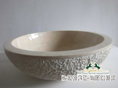 Wastafel Batu Alam, Gambar Westafel Marmer, Wastafel Batu Alam Marmer