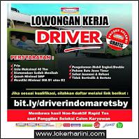 Lowongan Kerja Driver Indomaret Surabaya