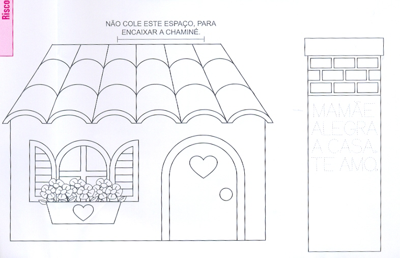 Moldes De Casas Para Imprimir Recortar E Montar Ou Confeccionar