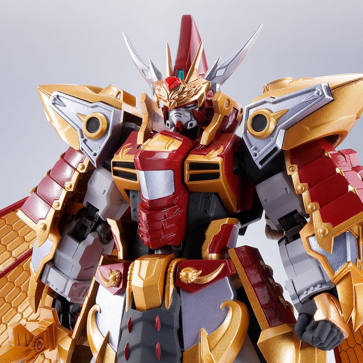 Bandai Metal Robot Spirits /<Side MS/> CaoCao Gundam Real Type Ver Action Figure