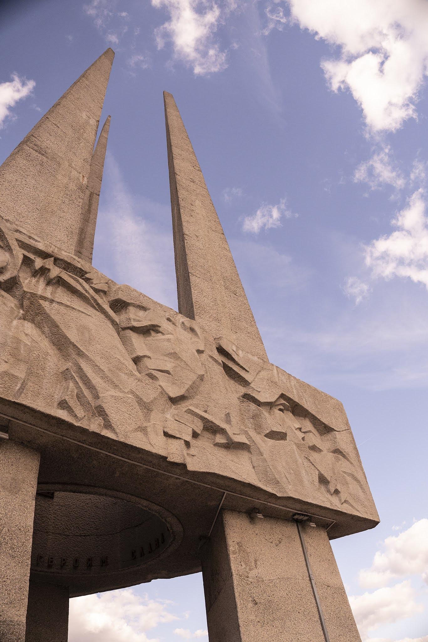 Vitebsk eternal flame WWII monument