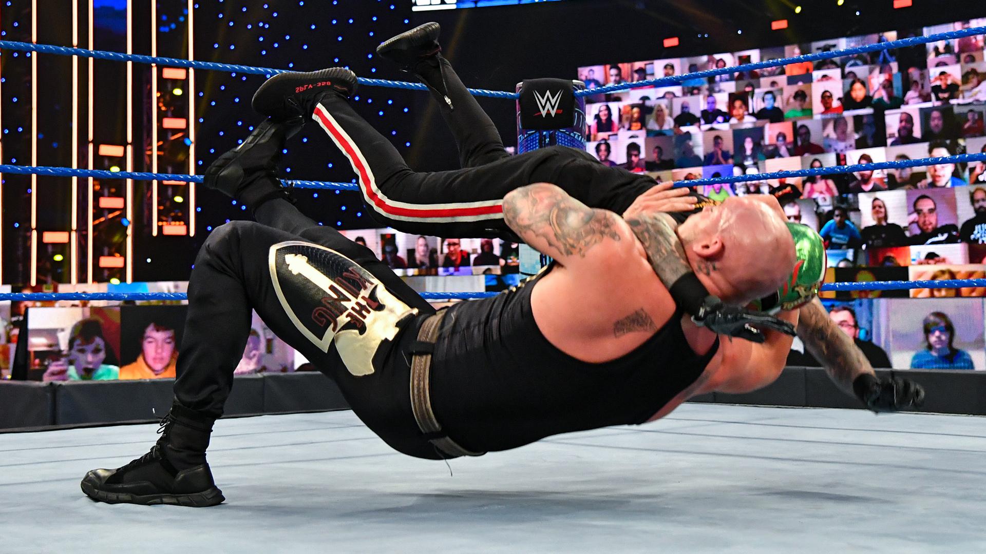 King Corbin fará parte do Team SmackDown no Survivor Series
