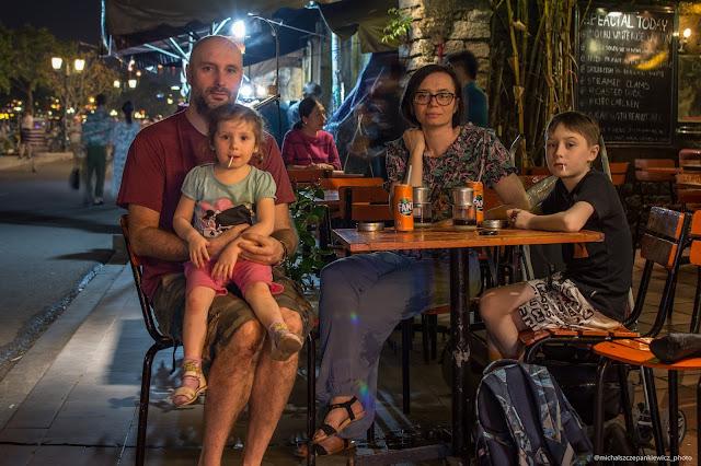 Rodzinka w Wietnamie