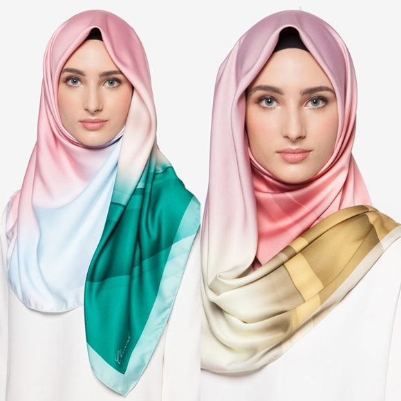 Tudung Bawal Pucci Aurora Satin Shawl Italian Pucci By Cloverush Fesyen Tudung Terkini 2016 2017 1