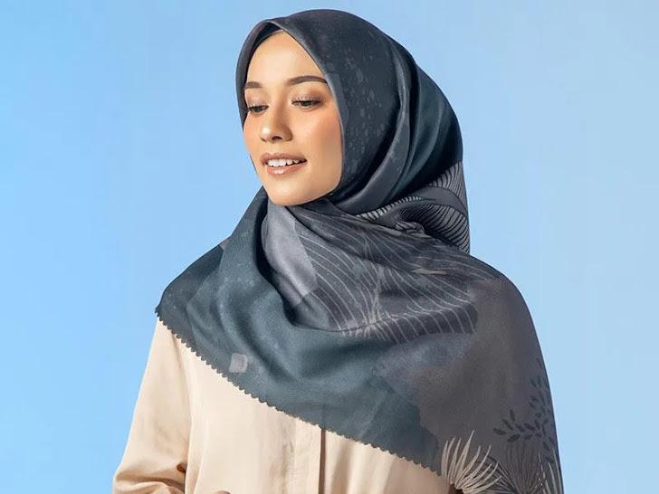 Jual Iskanti Rium Scarf Jilbab Segiempat Wanita - Kandis Mataram Lombok