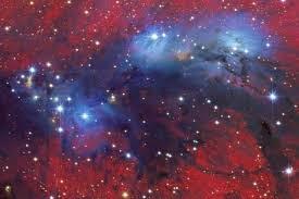 Estrellas calientes - Una Galaxia Maravillosa