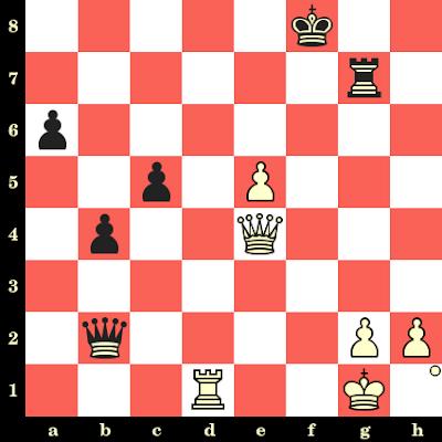 Les Blancs jouent et matent en 4 coups - Luc Winants vs Simen Agdestein, Salonique, 1984