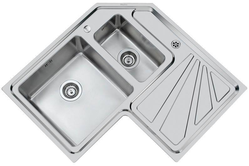 Fregadero de cocina para las esquinas construccion y for Lavaplatos para esquinas