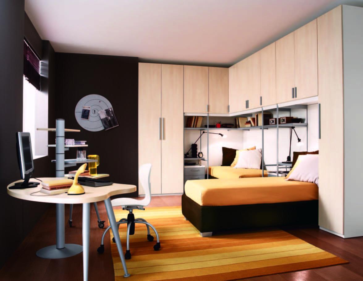 Thiết kế nội thất sinh động nhờ sử dụng màu vàng làm điểm nhấn