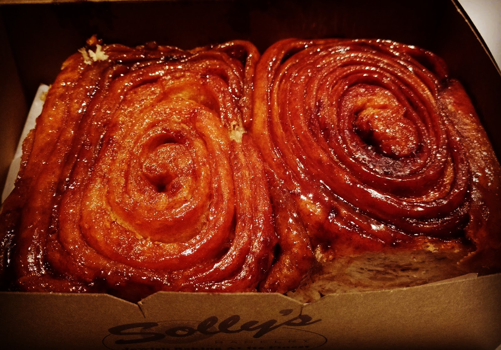 Vancouver, where these cinnamon buns make me nostalgic for childhood holidays in this city.