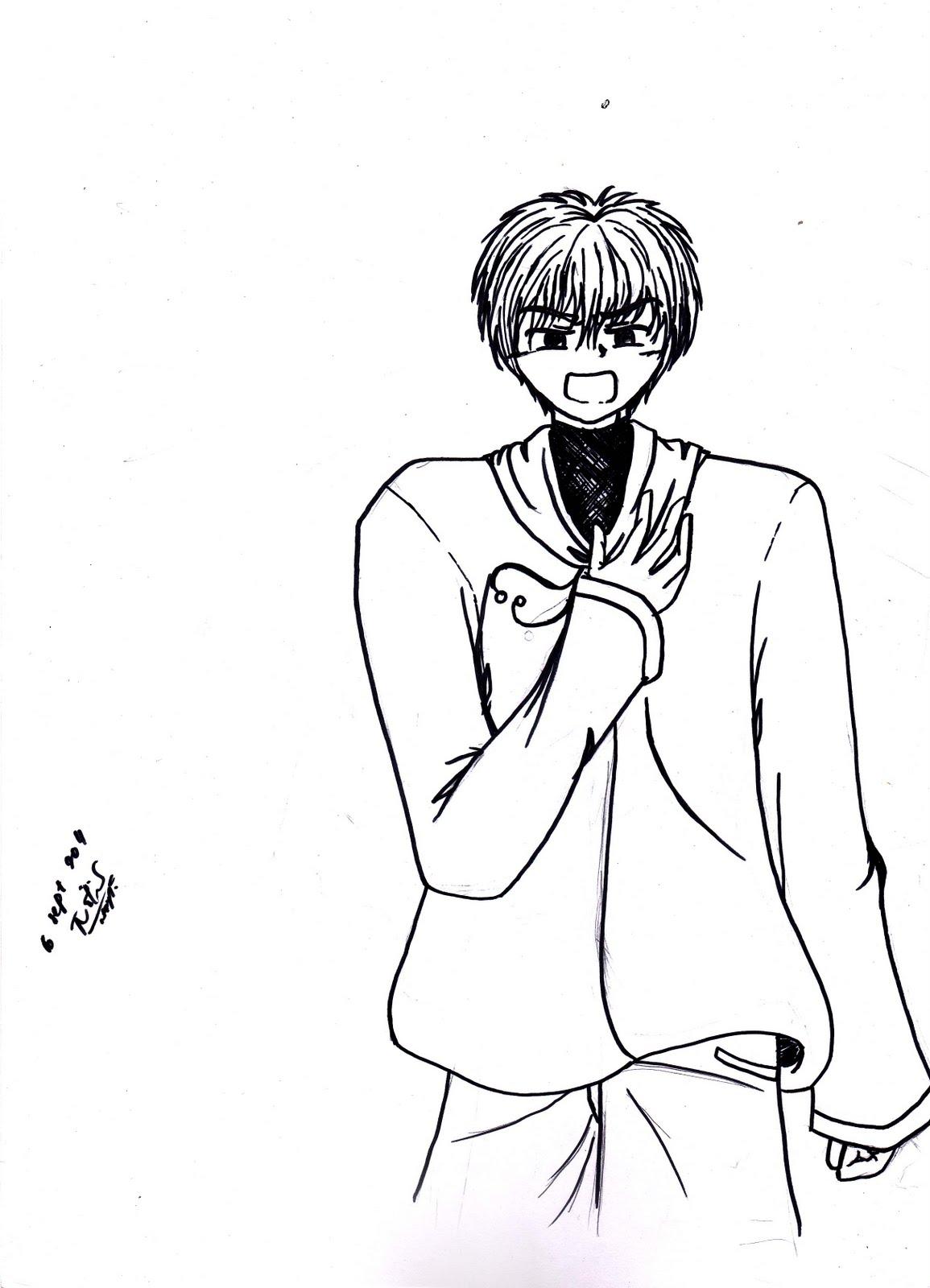 Cute Girl Sketch Wallpaper Pz C Anime Girl Sketch