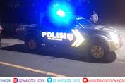 Antisapasi Gangguan Kamtibmas, Personel Polsek Maiwa Rutin Patroli Blue Light