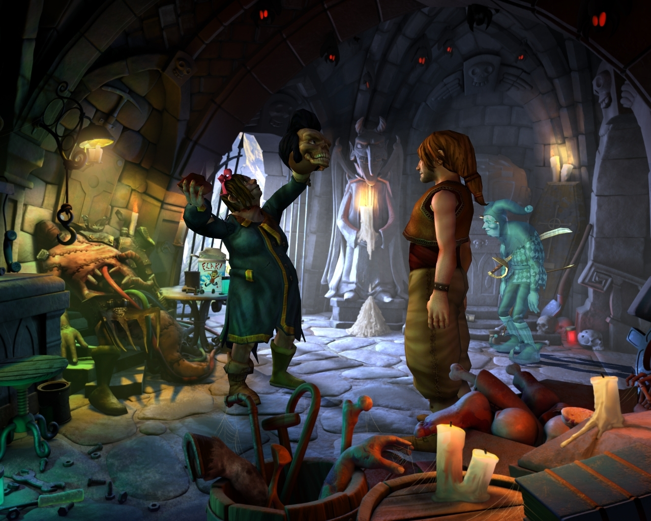 the book of unwritten tales 002 - Book of Unwritten Tales (PC) Review
