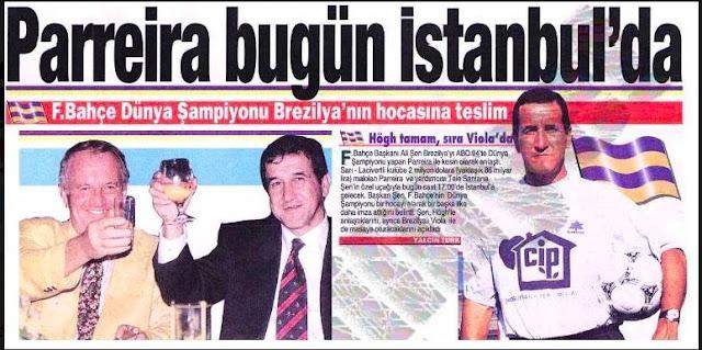 Parreira Fenerbahçe Newspaper