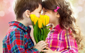 Top latest hd Baby Boy to Girl frist kiss images photos pic wallpaper free download 22
