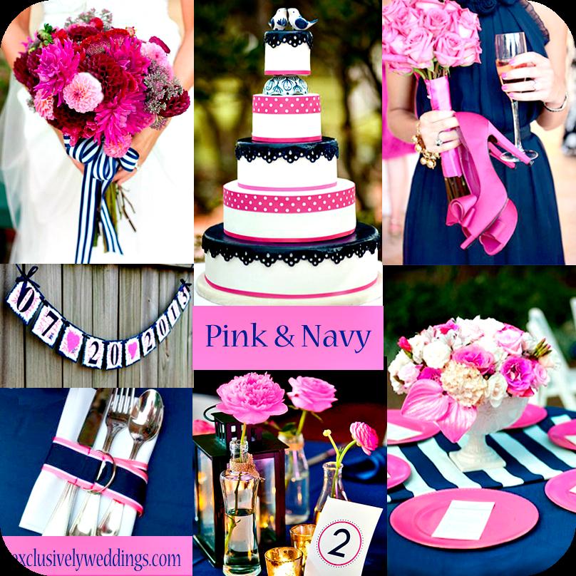 Pink Wedding Themes Ideas: Event And Wedding: Colore Matrimonio