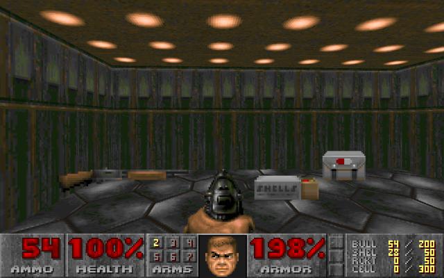 Nunca sobra el equipo en Doom.