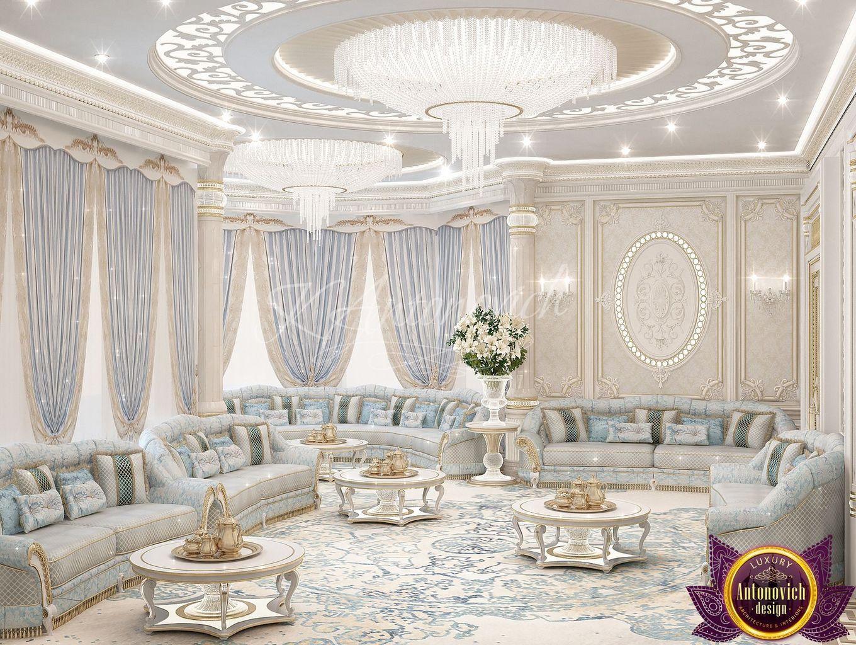 Foyer Decor Dubai : Luxury antonovich design uae living room ideas of