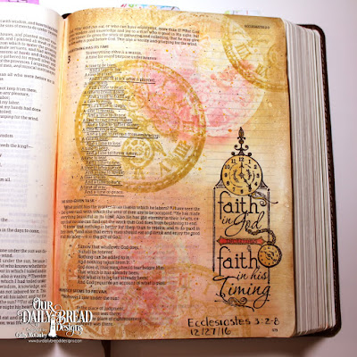 Our Daily Bread Designs Stamp Sets: Time, His Timing