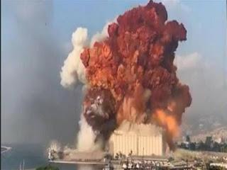 إنفجار مرفأ بيروت، نترات الأمونيوم، ديلي ميل، صحيفة كوريير، دانيلو كوبي، ديناميت، الليثيوم، حربوشة أخبار