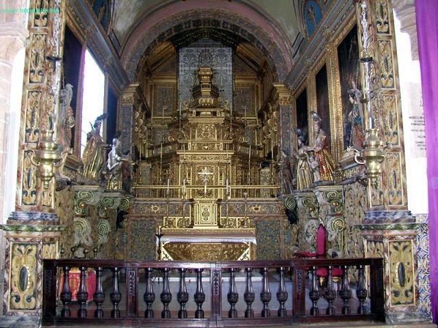 """Capela da Catedral de Faro"""", em Portugal"""