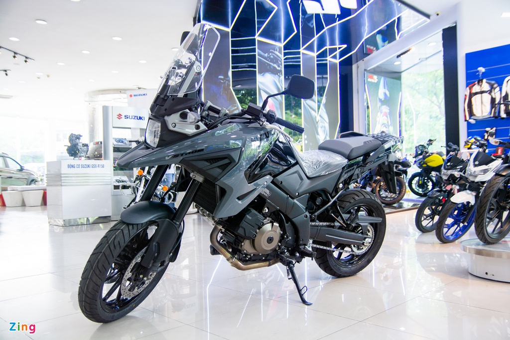 Suzuki V-Strom 1050 âm thầm về VN, giá 419 triệu đồng