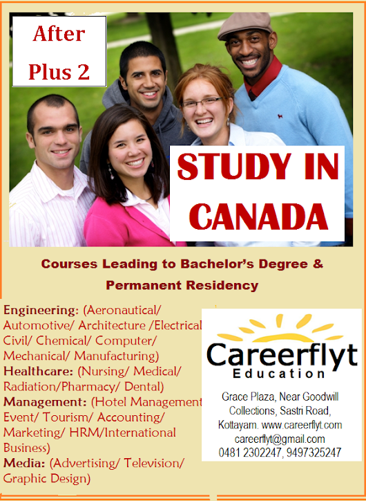 Study in Canada after Plus Two