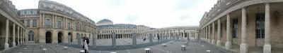 Pariisi ranska le palais royal garden
