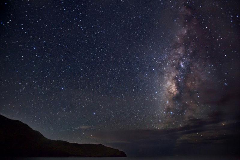 Anawangin Stargazing