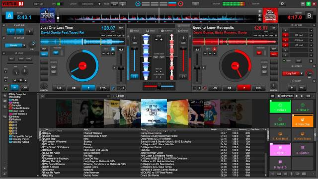 Screenshot Atomix VirtualDJ Pro Infinity 8.4.5308.0 Full Version