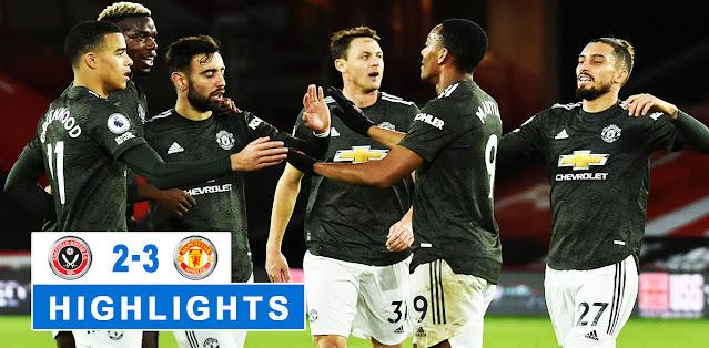 Sheffield United vs Manchester United Highlights