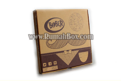 cetak dus pizza corrugated murah