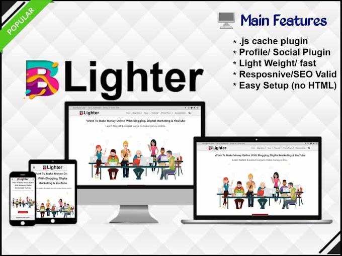 BLighter - Blog & Responsive Blogger Template