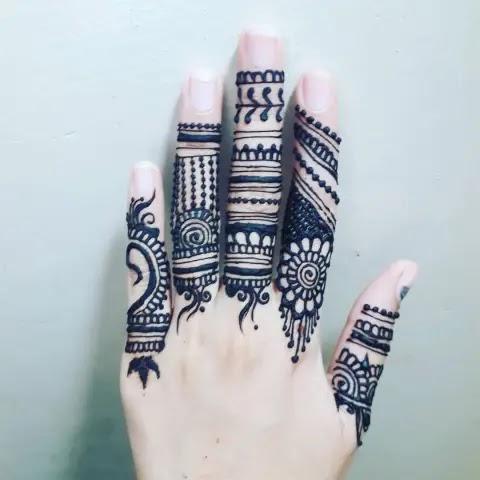 mehndi-design-for-girl-fingers-bridal
