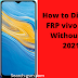 How to Bypass FRP vivo Y20s Without PC