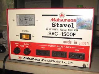 Darmatek Jual Matsunaga Stavol SVC-1500F Stabilizer