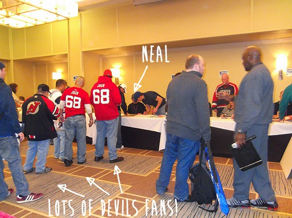 Neal Broten and New Jersey Devils fans
