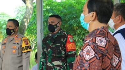 Kapolres Karawang Hadiri Rapat Koordinasi Pelaksanaan Program Kegiatan PPK DAS Citarum diwilayah Kab. Karawang