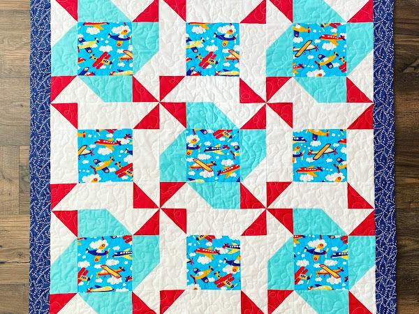 Whirligigs & Pinwheels Quilt