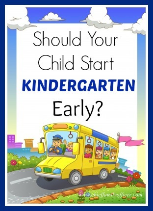 Should your child start kindergarten early? - chieffamilyofficer.com